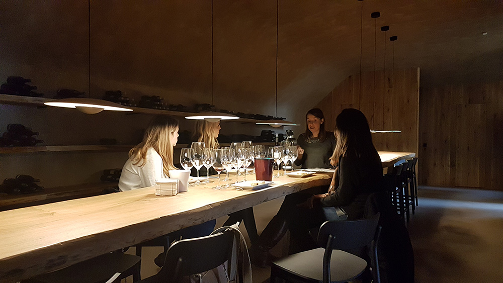 Private wine tasting in family winery