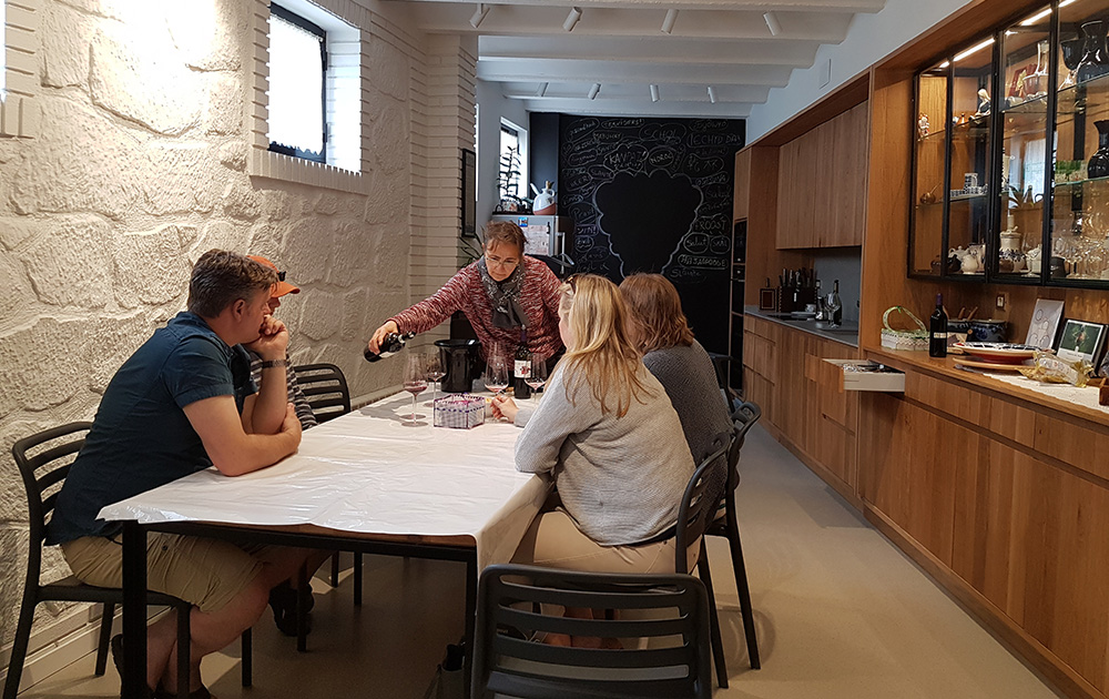 Tasting with the winemaker at Abel Mendoza