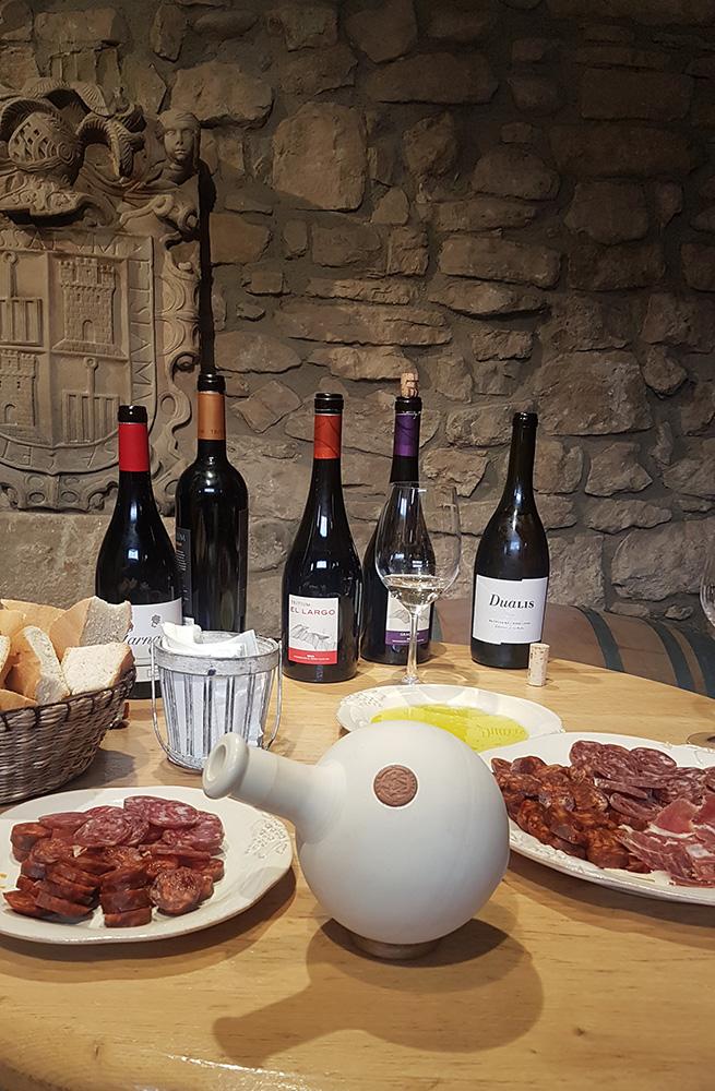 Tasting at Tritium, a traditional cellar in Cenicero