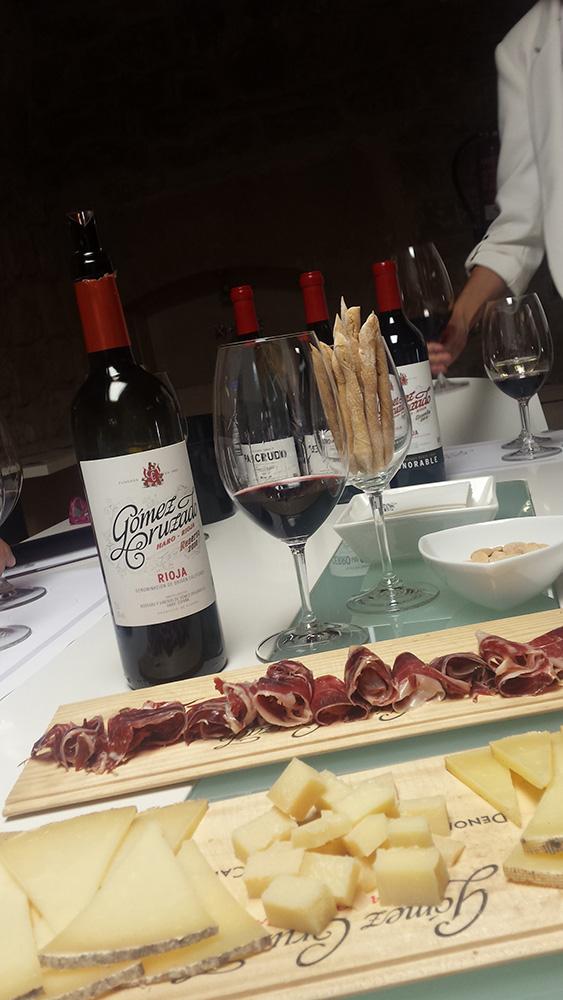 Premium tasting at Bodegas Gómez Cruzado, in Haro