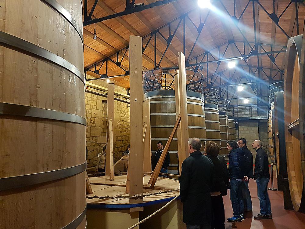 Oak vat making at Bodegas Muga in Haro