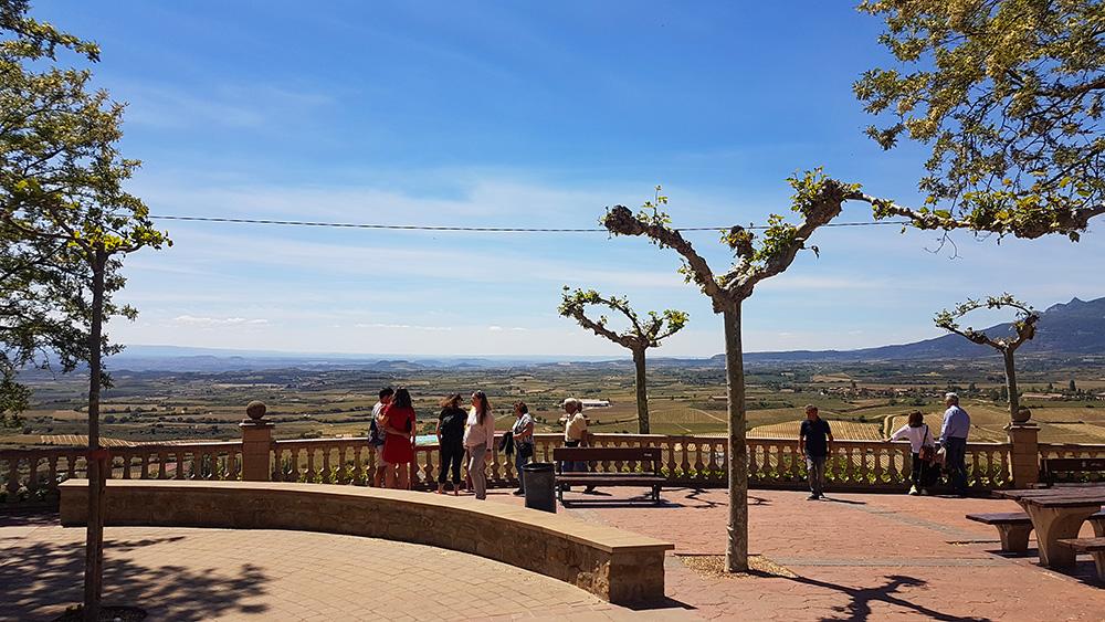 Views toward Páganos from Laguardia